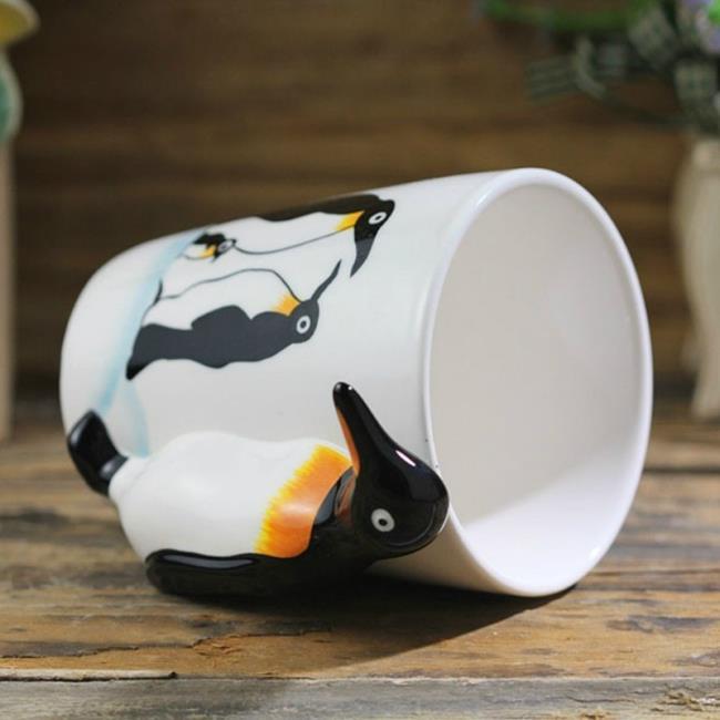 Sammlung von schönen niedlichen Pinguinbildern