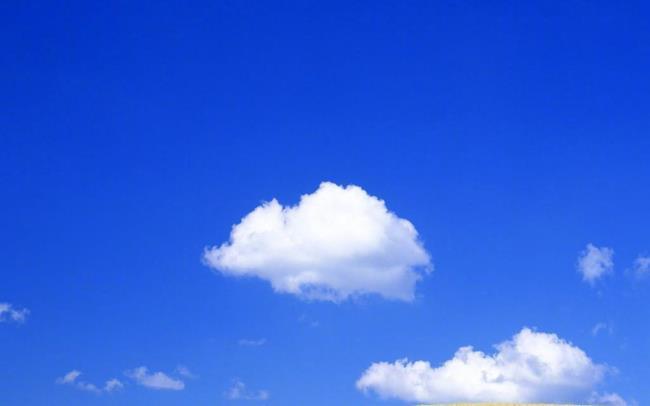 Красивое голубое небо изображения Full HD
