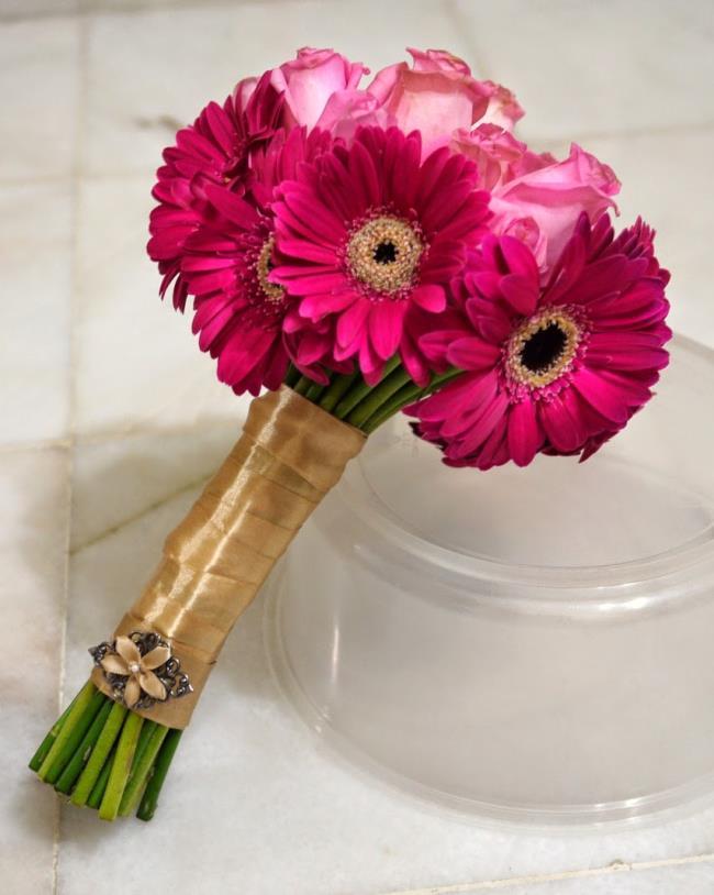 Photos beautiful gerbera bouquet