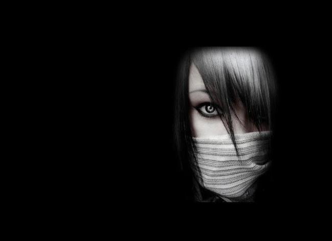 Sammlung von schwarzen Avatar-Bildern als schöne Tapete