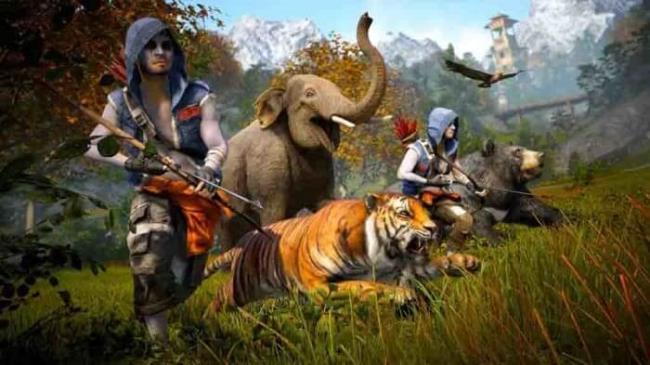 Nepal in Far Cry 4