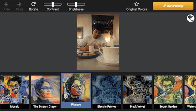 Dreamscope transforms photos into paintings
