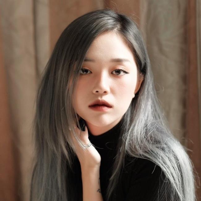 Zusammenfassung des schönsten heißen Mädchens Linh Ngoc Dam