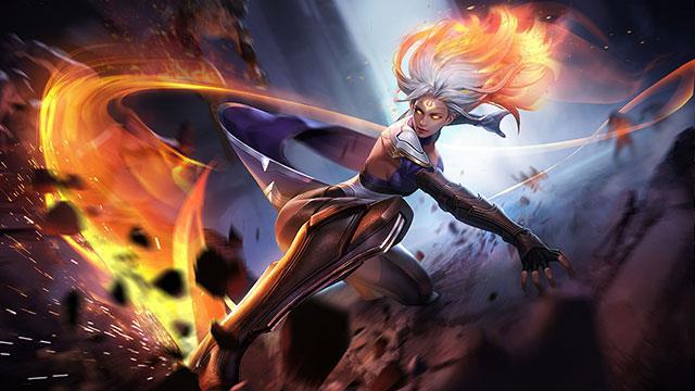 امیلی - تانکر اصلی در بازی ابتدایی