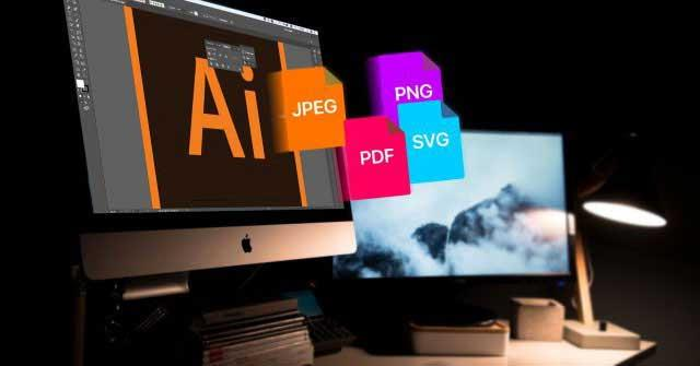Save AI files to other formats to serve more purposes