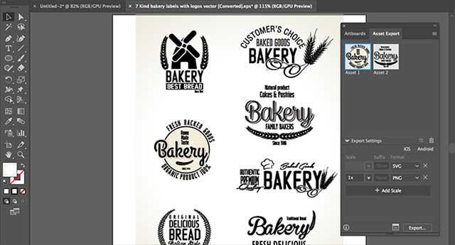 Как сохранить объекты из изображения Adobe Illustrator