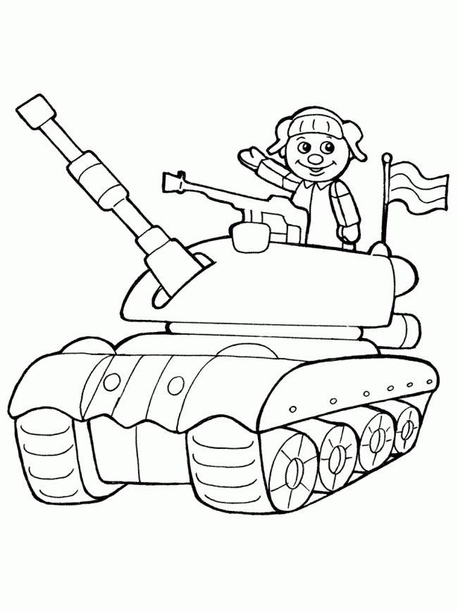 सुंदर लड़कों के लिए टैंक के रंग चित्रों का सारांश