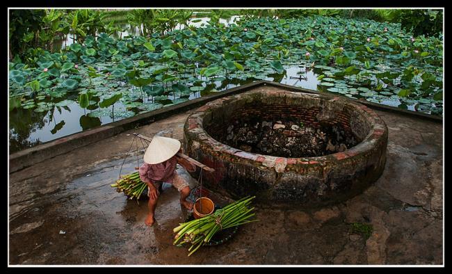 Foto sumur desa Vietnam