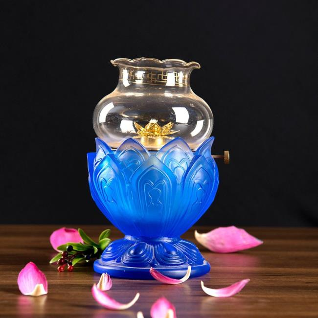 تصویر آبی نیلوفر آبی زیبا 4