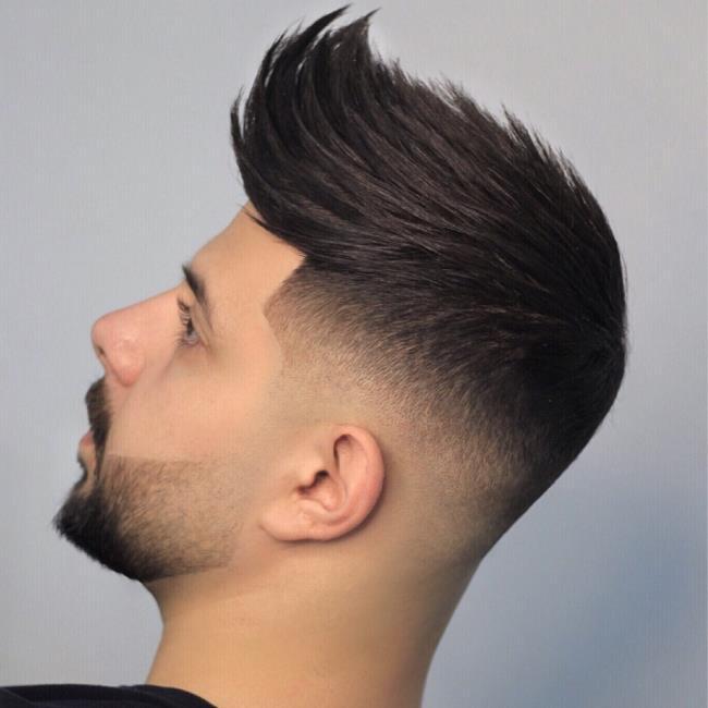 Short tuft hair for men 2020