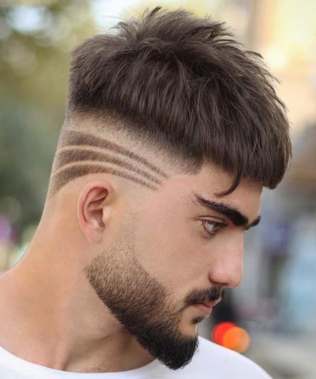 Short hair man designs 2020