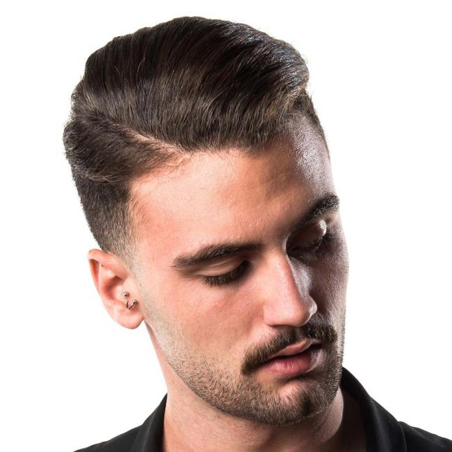 Short line haircuts for men