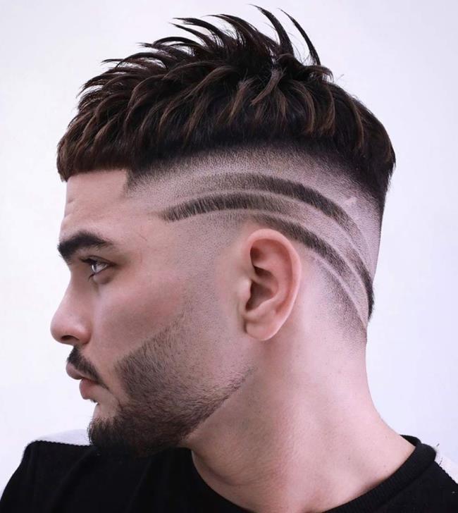 Short hair man designs