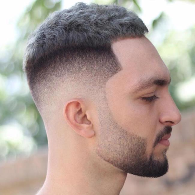 Short hair man shaved 2020