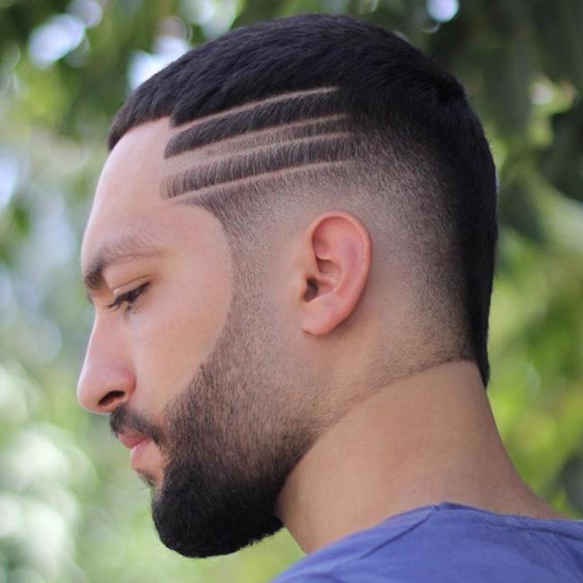 Short hair man