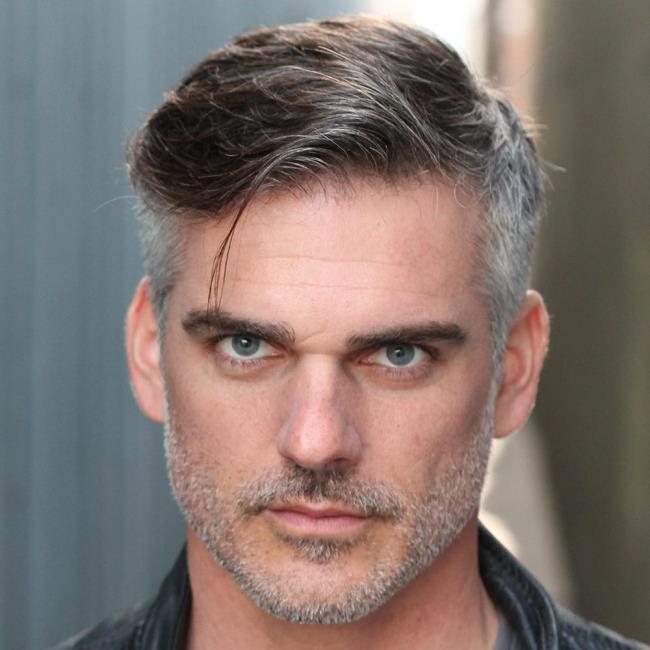 Short hair man over 30 40