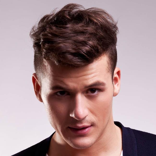 Men's short hair boys 2020