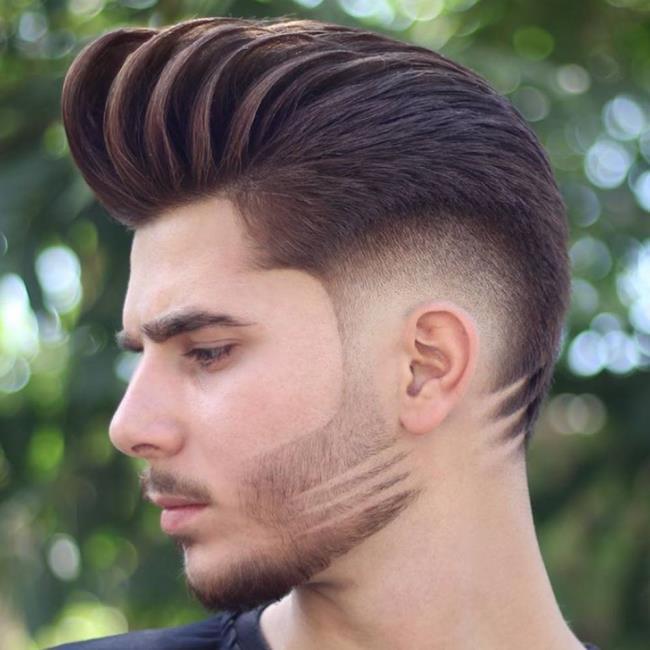 Boys short hair male