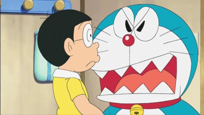 Koleksi gambar sedih nobita yang paling indah