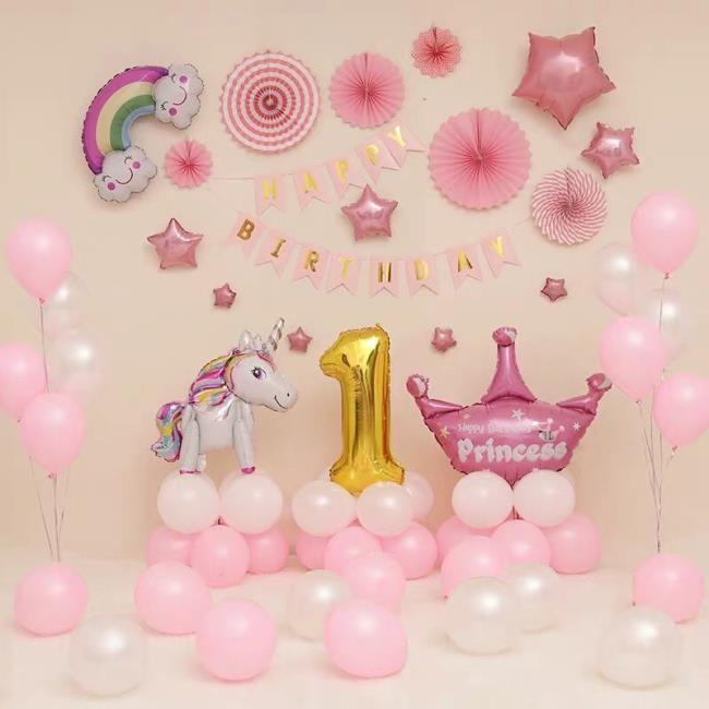 Sammlung der schönsten Geburtstagshintergrundmuster