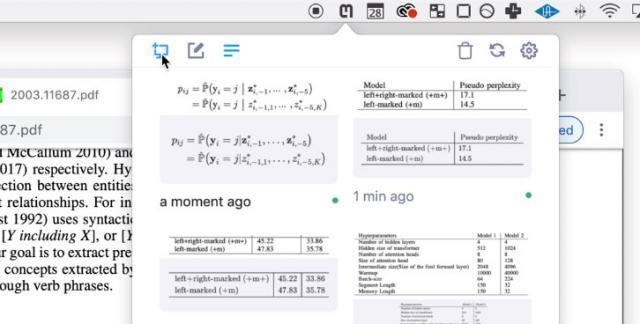Drücken Sie die Screenshot- oder Tastenkombination Strg + Alt + M / Strg + Befehl + M (Mac).
