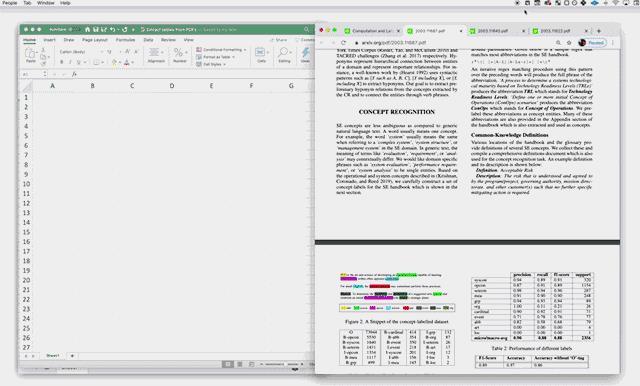 Schnelle Zusammenfassung der Schritte zum Abrufen von Tabellendaten in Excel mit Mathpix