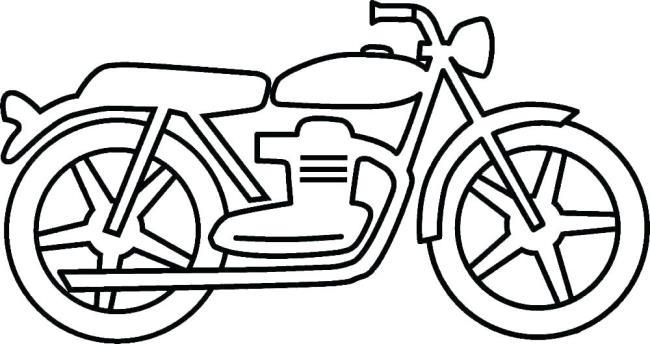 ملخص صور تلوين الدراجات النارية التي يحبها الأطفال