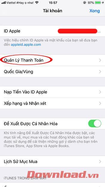 Como adicionar o MoMo à sua conta Apple ID 23