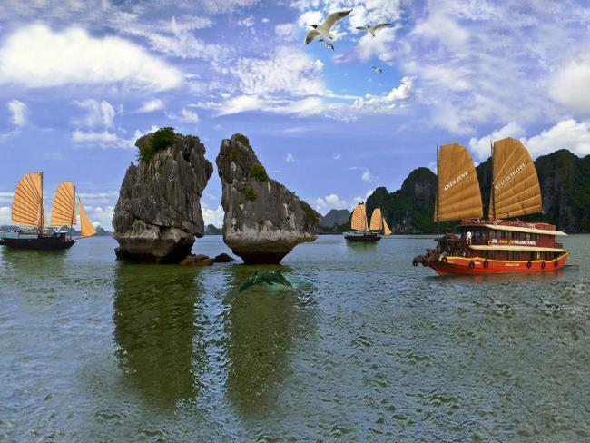 صور جميلة من خليج ها لونج