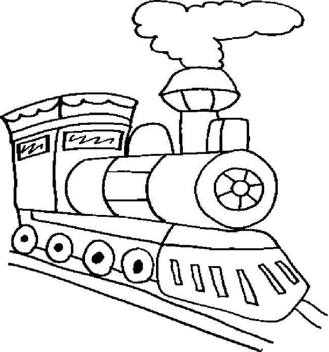 مجموعة من صور تلوين القطار الجميلة