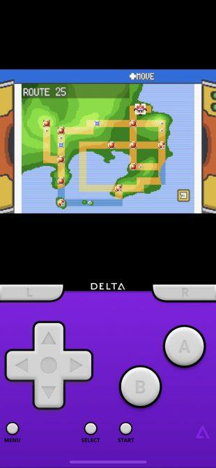 Pokemon in Delta simulator