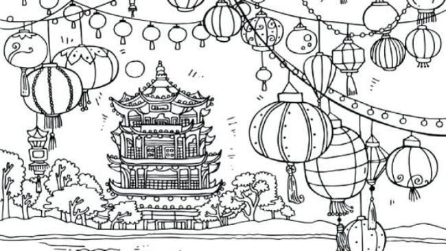 Résumé des images de coloriage significatives du festival de la mi-automne pour les enfants
