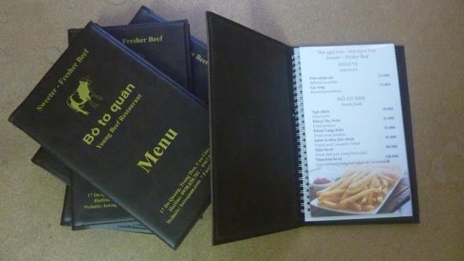 Colecție de șabloane frumoase de meniu cu multe teme