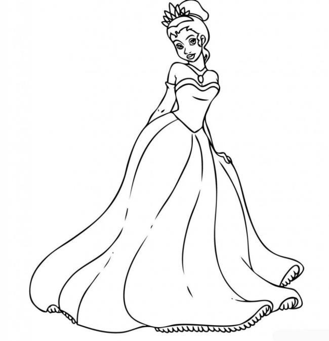 مجموعة جميلة من صفحات تلوين الأميرة سندريلا