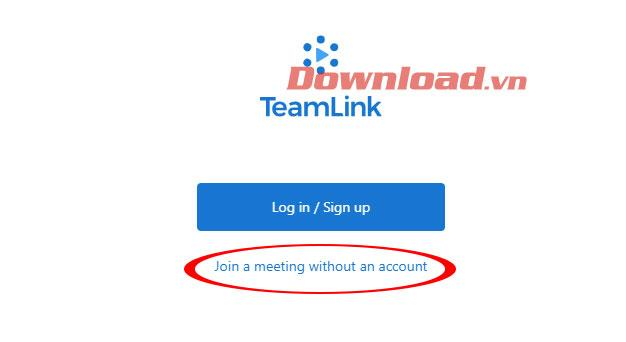 أدخل الفصل الدراسي على Teamlink