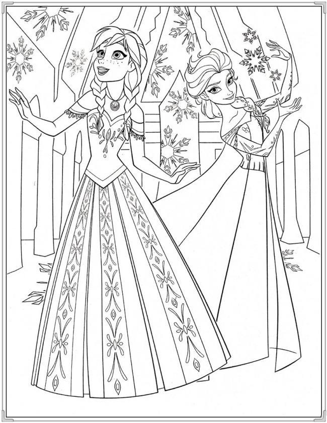 बच्चों के लिए सबसे खूबसूरत राजकुमारी रंग चित्रों का संग्रह