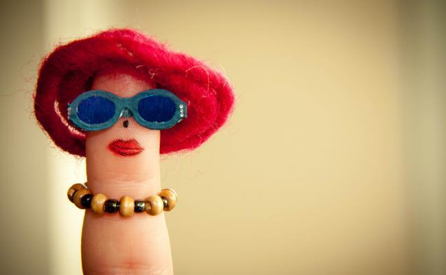 Sammlung der süßesten Fingerbilder