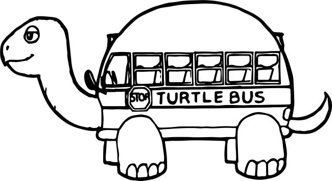 Collection of the most beautiful pictures of bus coloring for kids
