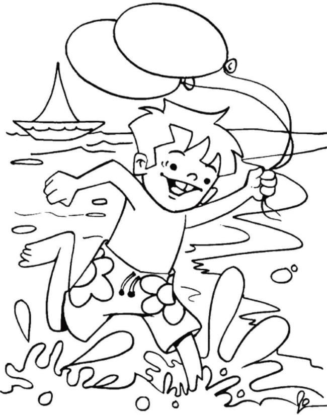 أجمل صور البحر للأطفال