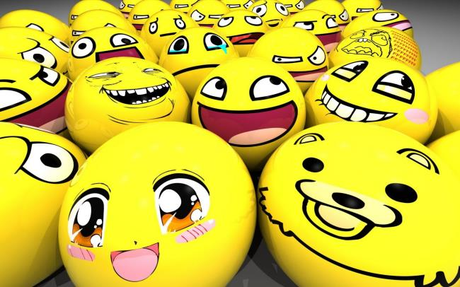 Collection of all kinds of lovely smileys