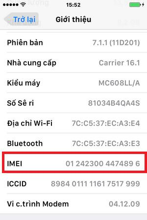 Identify Active iPhone and iPhone not active