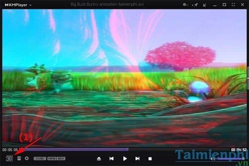 KMPlayer - View 3D video and adjust the parameters