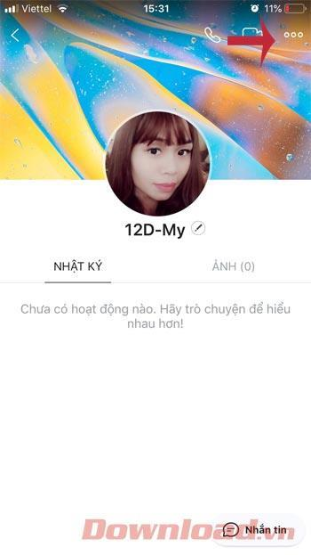 How to see your friends phone numbers on Zalo