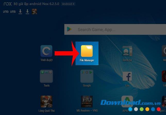 How to delete data in NoxPlayer