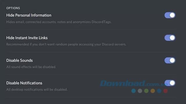 Anweisungen zum Aktivieren des Streamer-Modus in Discord