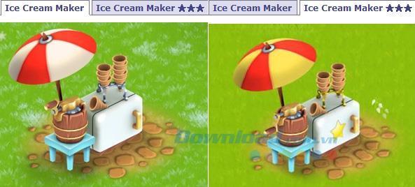 Anleitung zur Verwendung der Eismaschine im Spiel Hay Day