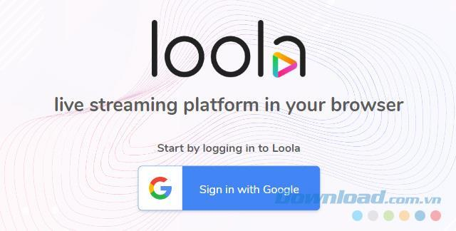 Livestream sur de nombreux réseaux sociaux utilisés à lheure de Loola TV