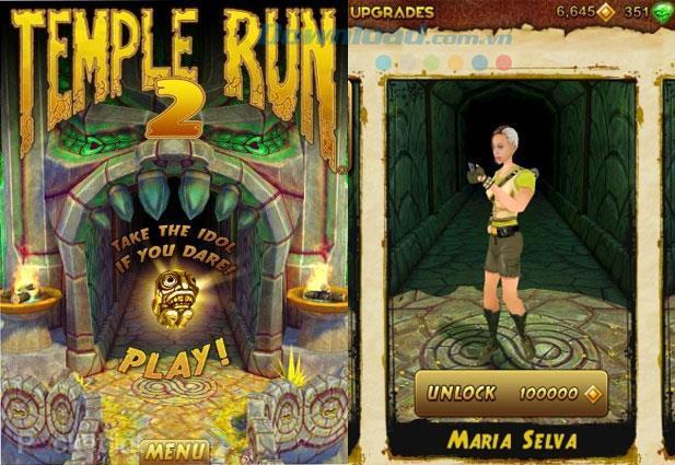ゲーム「テンプルラン2」でキャラクターシステムを学ぶ