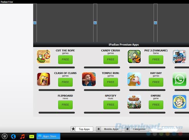iPadianを体験-最高のiOSエミュレーター