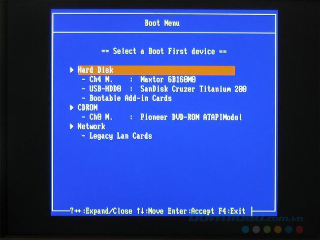 Résumé des touches de raccourci pour accéder à loption de démarrage (menu de démarrage) et au BIOS de lordinateur